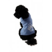 Puchi Powder Blue Paw Jumper